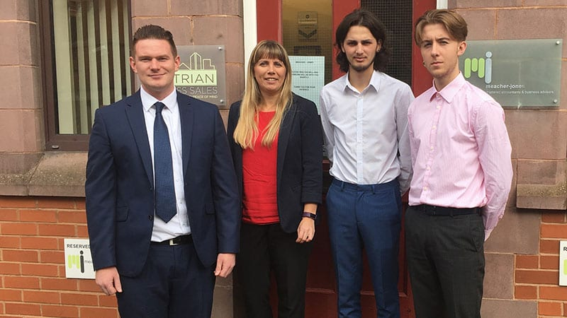 Three New Starters at Meacher-Jones